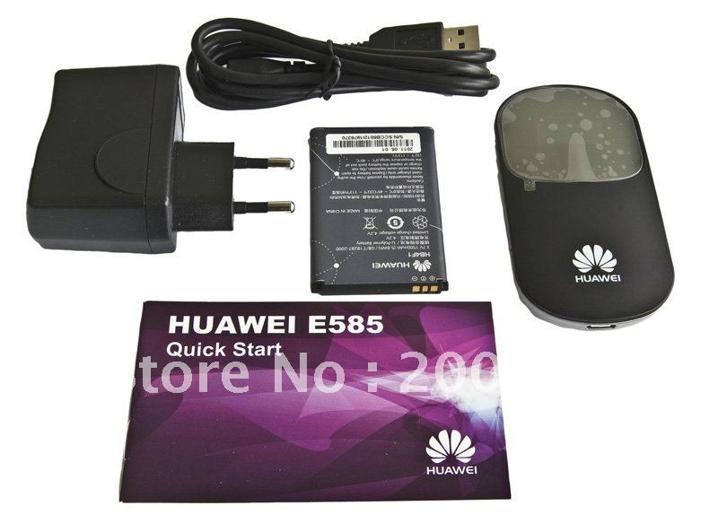 Huawei wireless modem router,usb 3g high speed wifi  (E585)
