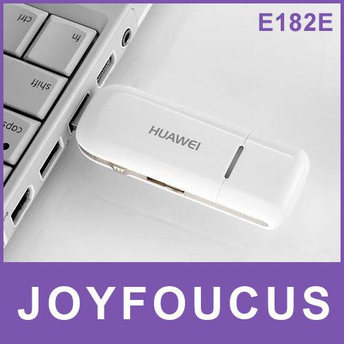 5pcs Hong Kong post  free shipping  HUAWEI E182E WCDMA 3G Modem USB Modem HSPA+ High Speed 21.6Mbps