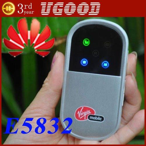 Unlocked new Huawei E5832(E5)USB 3G HSPA Wireless Router Modem Accept Dropshipping