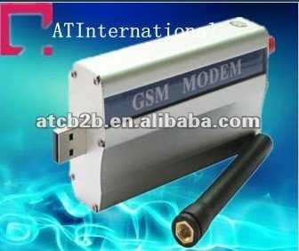 Quad-band USB/RS232 GPRS One port 24plus GSM/SMS modem with TCP/IP industrial grade