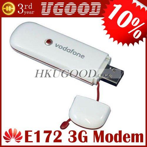 Unlocked HUAWEI E172 Broadband HSDPA 3G USB Modem 7.2Mbps