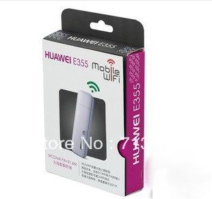 China Post Free shipping Original Unlocked Huawei E355 WiFi Router 3G wireless hotspot, 21Mbps pocket Wifi