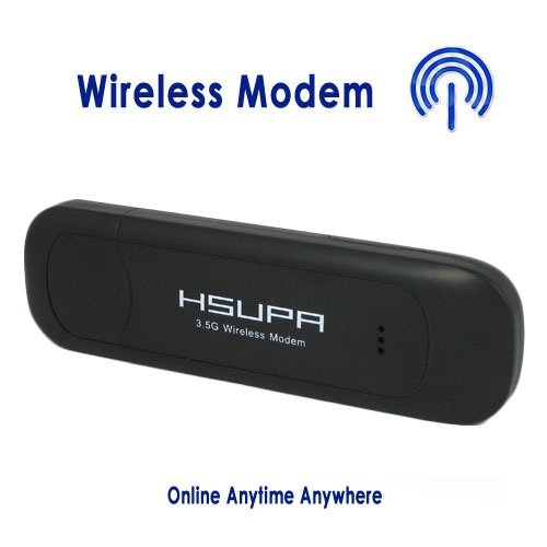 Black High Quality 7.2mbps HSDPA USB Modem 3G Wireless Network Card Unlocked