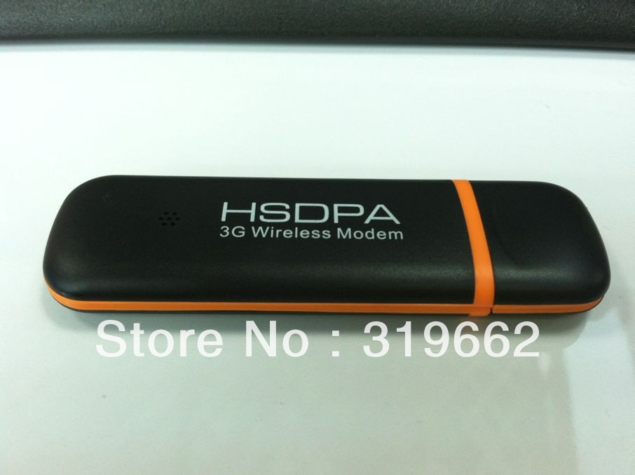WCDMA Modem hsupa dongle with SIM card and support Android 5pcs/lot