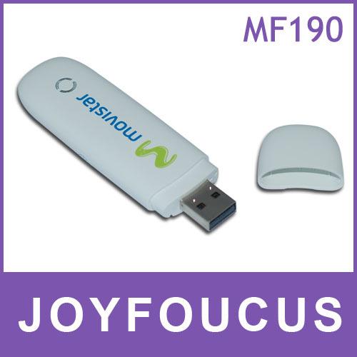 20 pcs  DHL free shipping  original unlocked zte mf190 hsdpa usb modem ,by kim
