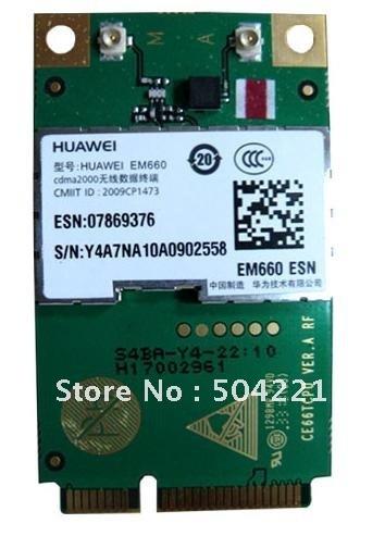HuaWei EM660 3G CDMA EV-DO Module WWAN Mini PCI-E Card