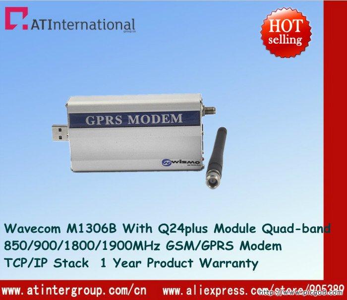 Wavecom GSM/GPRS M1306B With Q24plus Dual-band 850/900/1800/1900MHz USB