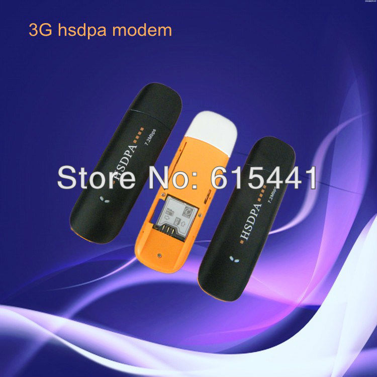 FREE SHIPPING High Quality 3G Dongle 7.2M HSDPA USB Modem Android