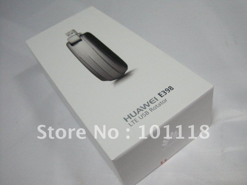 Free shipping by DHL/EMS HuaWei E398 4G LTE test special Modem 100Mbps wireless unlocked WIFI (2G 3G 4G)
