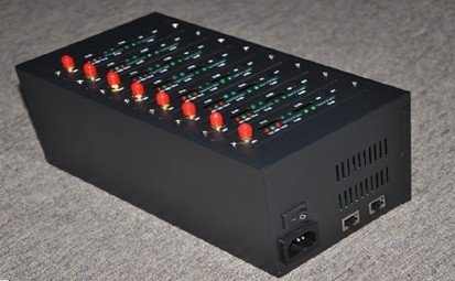 USB/ RS232 8 ports gprs gsm wireless modem pool 850/1900Mhz 900/1800Mhz