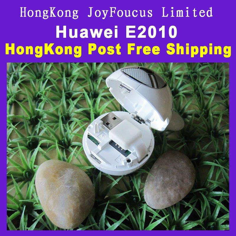 Huawei E2010 3G modem Unlocked Modem Ball design with packing Free shipping