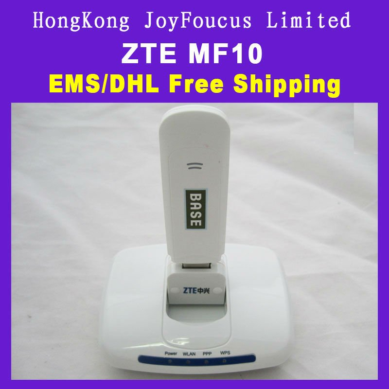 Free Shipping ZTE MF10 3G WIFI Router with CE Certificate