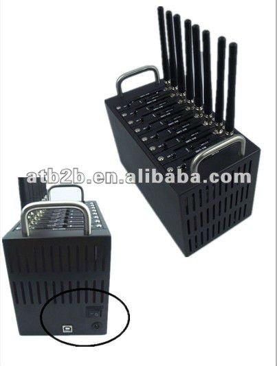 8 Port Simbank,GSM GPRS EDGE 8 SIM CARDS Modem Pool-24 plus