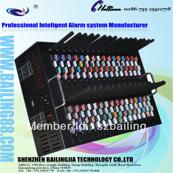Newest Quad-band GSM FWT (fixed wireless terminal) 32 port with 128Sim cards IMEI changeable
