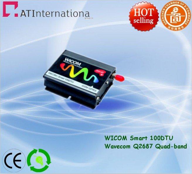 Industrial GSM/GPRS Modem Q2687 Wiscom Smart 100 DTU Quad-band