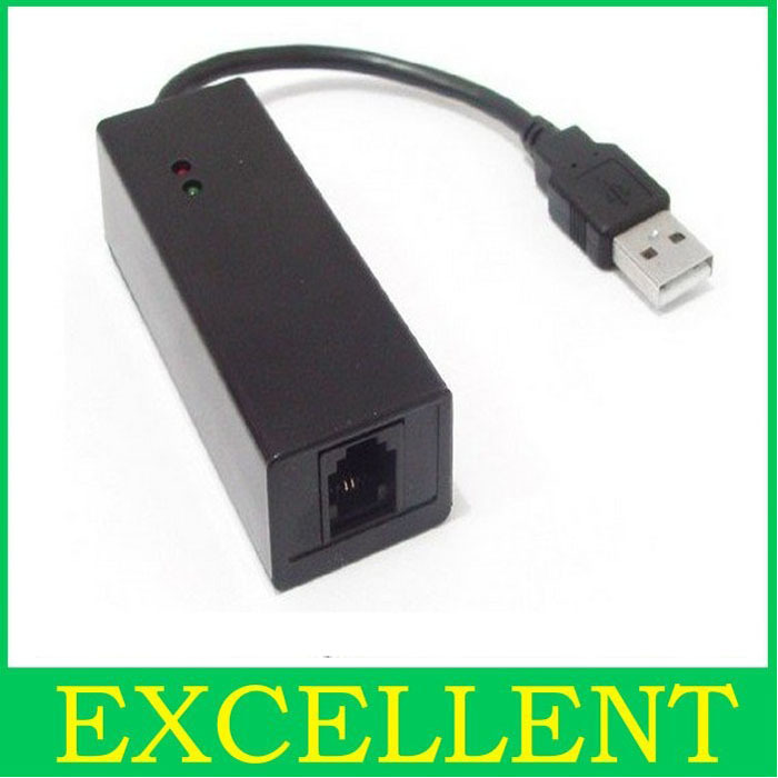 Wholesale USB Fax Modem 56K Dial up Voice,Data External V.90,V.92 For Windows 98 SE / ME / 2000 / XP support dropshipping
