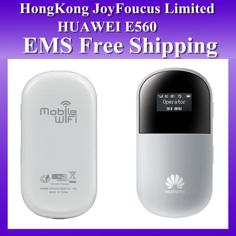 Unlocked Huawei E560 Usb 3G 7.2M Modem Wireless Router EMS/FEDEX Freeshipping