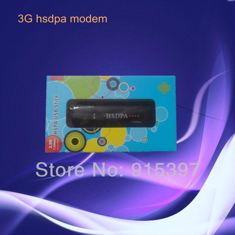 Free shipping-3G HSDPA modem/3G USB DONGLE 7.2Mbps high 364kbps ASC016