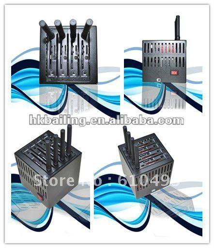 Elegent GSM 4 SIM CARDS Modem Pool with USB 2.0 interface,quadband wavecom modem