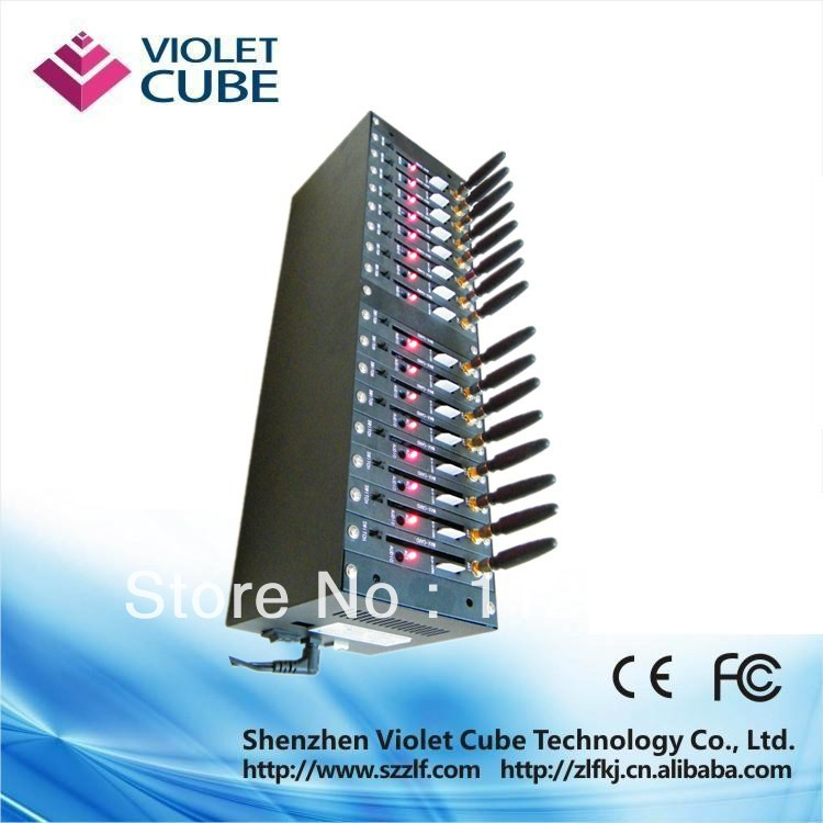 Manufacture 16 port Q2303 wavecom gsm Modem pool        - ZLF01