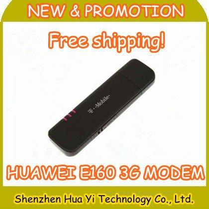 DHL Free Shipping!Huawei E160 Modem 2G/3G USB Modem/Data Card/Stick,Support external antenna,100pcs/lot