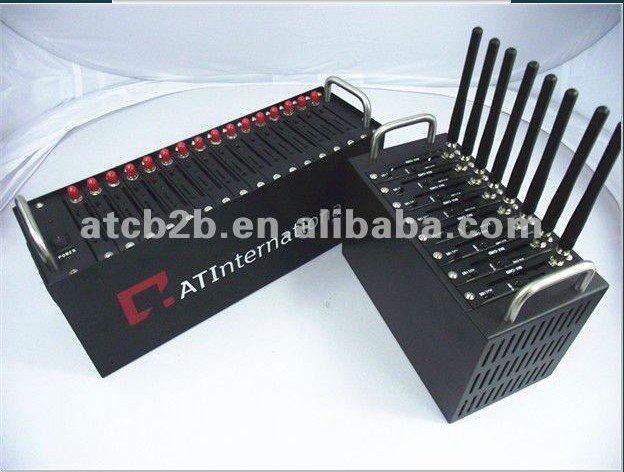 USB interface gsm 16 Ports wireless gsm Q24plus Modem with GPRS&TCP/IP