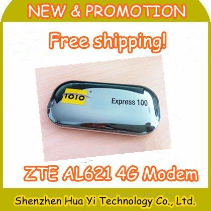 DHL Free Shipping! 4G LTE USB MODEM Wireless network card (UNLOCKED) 1010 Express 100 ZTE AL621 Support 2G 3G 4G PK HUAWEI E372