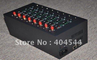 dual band/ quad band 8 channels 8 sims  GSM modem  USB/ RS232