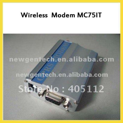 RS-232 GSM GPRS terminal MC75IT