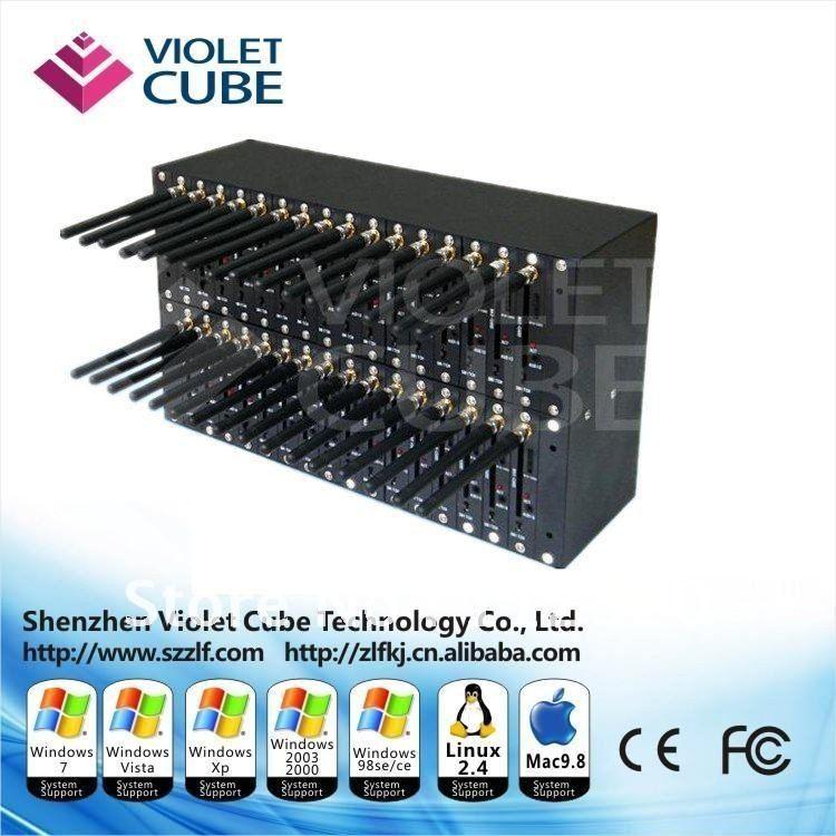 Hot Sale 32 Port Modem Pool for Bulk SMS/MMS IMEI Rechange