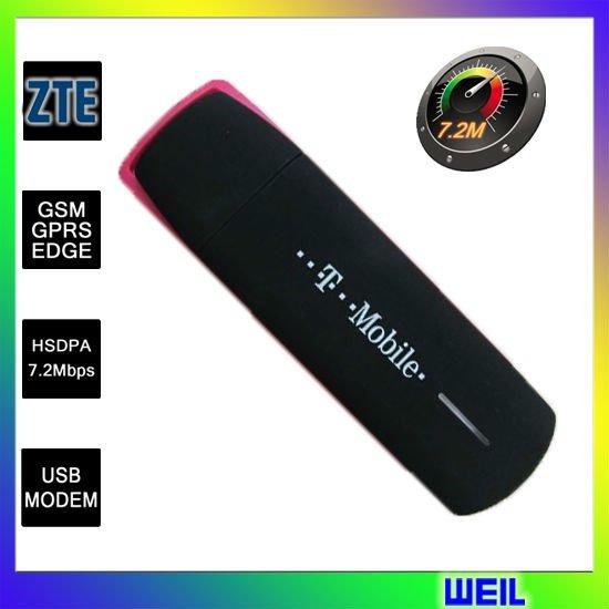 ZTE MF637 Unlocked 3G Usb Wireless 7.2M Modem Support CE free shipping WEIL