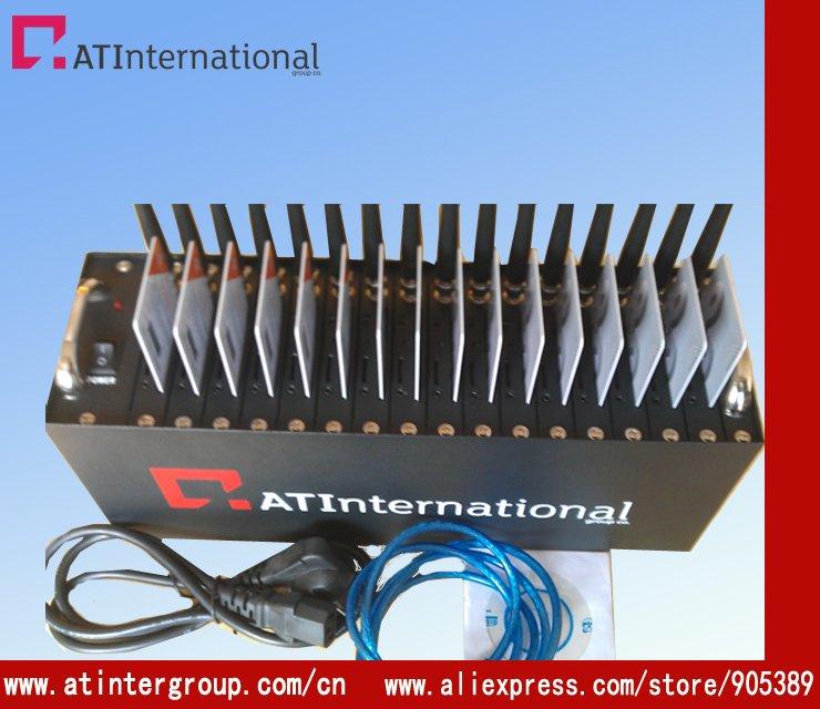 high speed 16 port q2686 modem gsm gprs at command