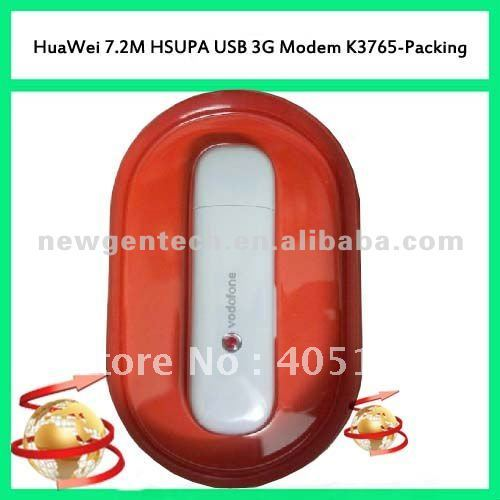 HUAWEI 7.2M HSUPA USB 3G Modem K3765