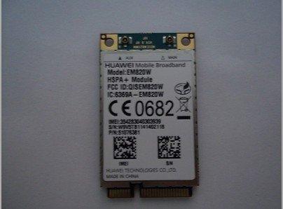 Free shipping HuaWei EM820W 3G WCDMA GSM WWAN WLAN Card HSPA+21Mb