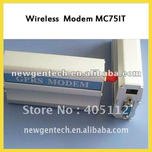 EDGE MODEM MC75IT RS232 Interface