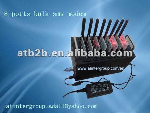 factory price 8 ports gsm sms modem