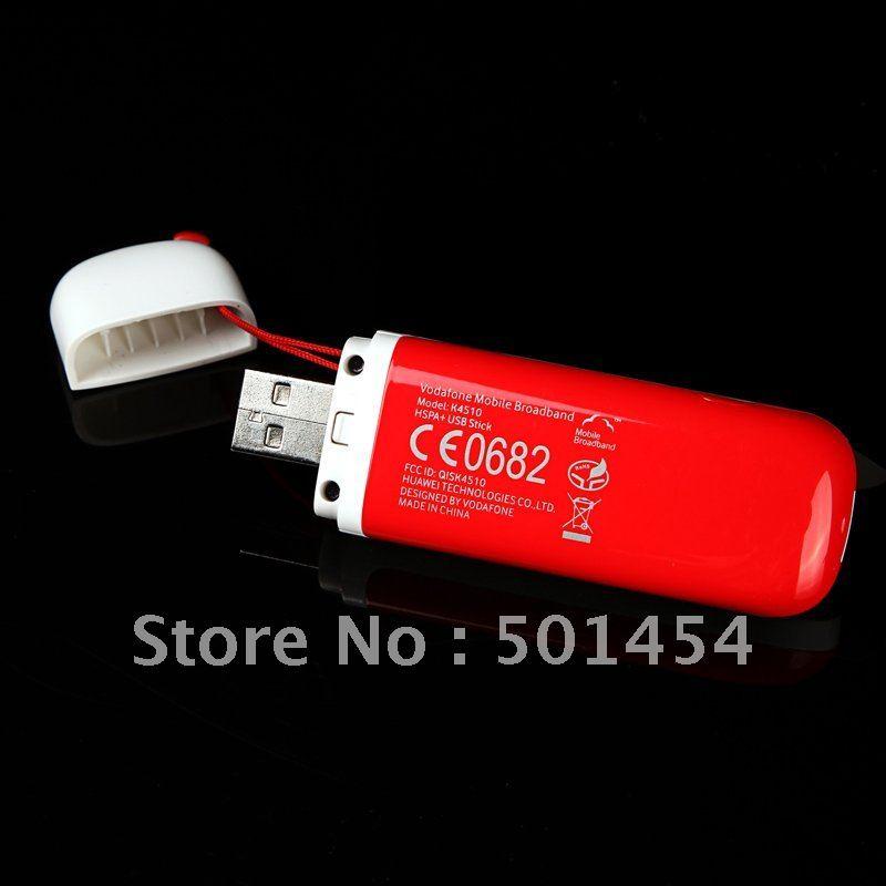 HOT 28.8M Unlocked Huawei K4510 3G Mobile Broadband Wireless Modem USB Stick Dongle with Card Slot Free Shipping+Drop Shipping