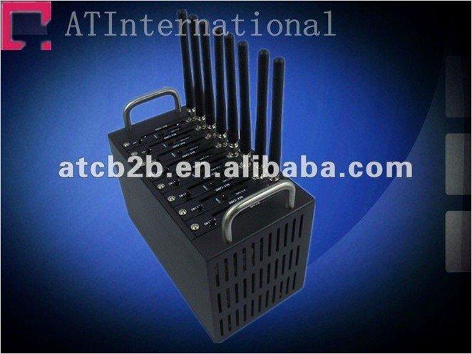 HOT SALES 8 Ports wireless Q2403 GSM/GPRS Modem industrial grade factory supply