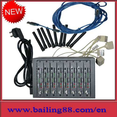 3G/WCDMA HC25 SMS MODEM,8 port gsm sim box support bulk sms,HIGH SPEED,professional manufacturer supply directly,free shipping!!