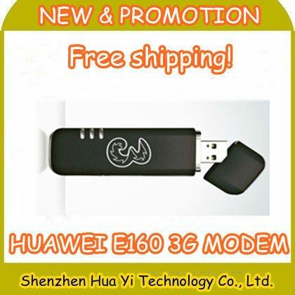 China Post Free shipping!Unlocked huawei E160,E160G,E160X,E160E 3G usb modem,2pcs/lot