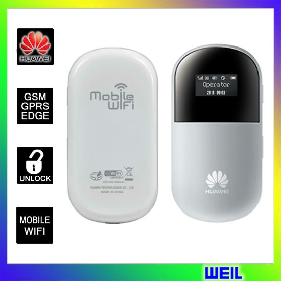 Unlocked HUAWEI E560 mobile WIFI Modem 3G Router UMTS 2100/900 MHz+EDGE