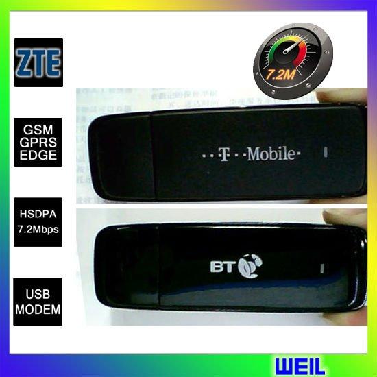 ZTE MF636 Wireless 3G USB modem 7.2 Mbps free shipping WEIL