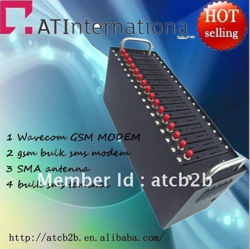 For bulk sms sending 16 Port SMS GSM Modem pool, Bulk SMS platform, clusrer send and receive SMS