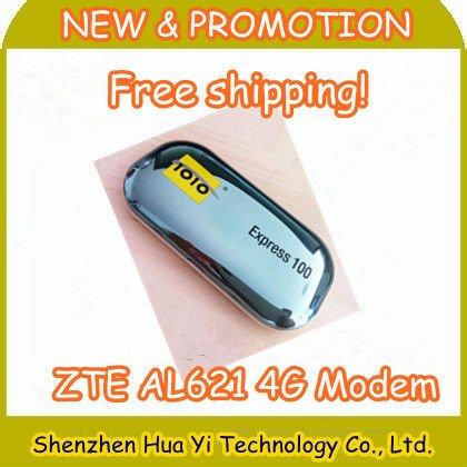 EMS Free Shipping! 4G LTE USB MODEM Wireless network card (UNLOCKED) 1010 Express 100 ZTE AL621 Support 2G 3G 4G of SZ HUAYI