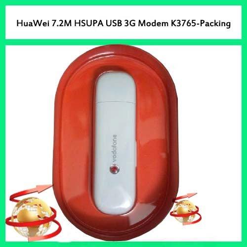 K3765 100% Unlocked HuaWei 3G Modem