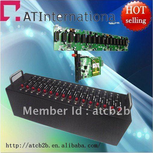 Free Shipping!!!16 Port GSM Bulk SMS Modem with wavecom Q2403 Modem pool