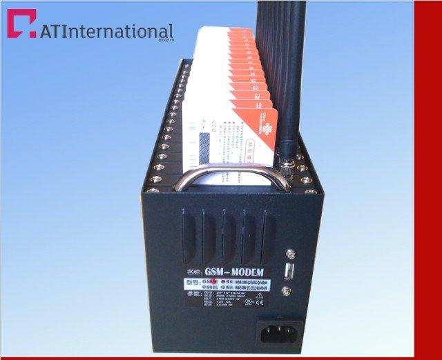 High quality 16 Ports wireless GSM/SMS Q2303 Modem industrial grade