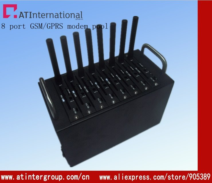 mini modem pool 4 port  Q2403 hot sell to india