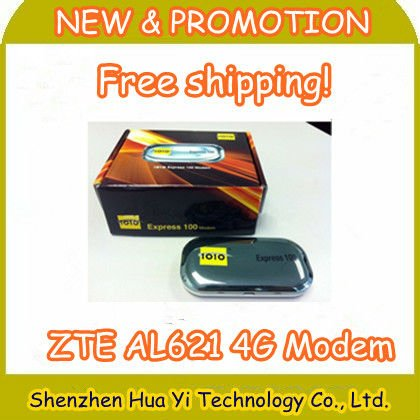 EMS Free Shipping! NEW Original Unlocked ZTE AL621 Unlocked 100Mbps 4G LTE mobile dongle usb modem