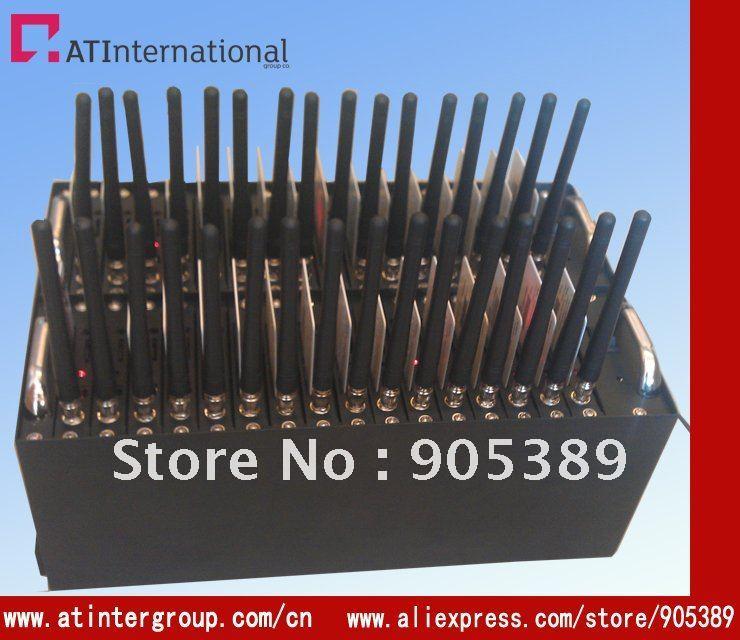 32 ports Bulk SMS USB GSM  Modem (wavecom Q2406)